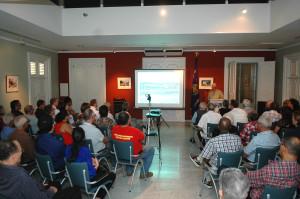 Siklo di charla  informativo Guera na Kòrsou?!,  na Archivo Nashonal